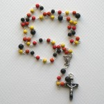Orange and Yellow Rosary