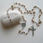 jasper stone rosary